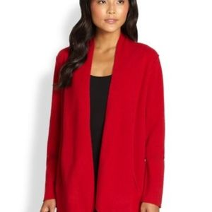Eileen Fisher Felted Wool Sweater Jacket